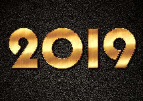 Ben arrivato 2019 !!!