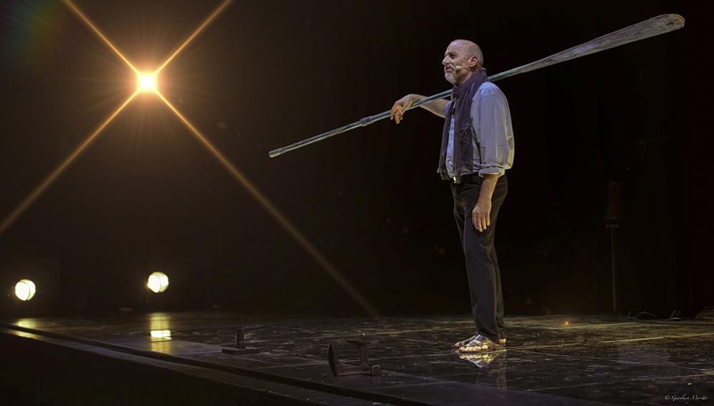 Nel tempo degli dei. Il calzolaio di Ulisse al Teatro Solvay