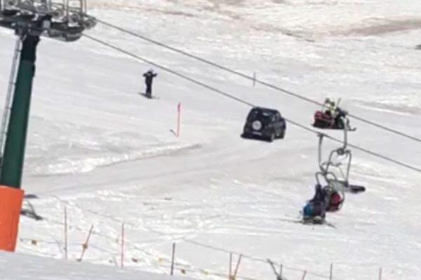 Anziano al volante, pericolo sugli sci costante