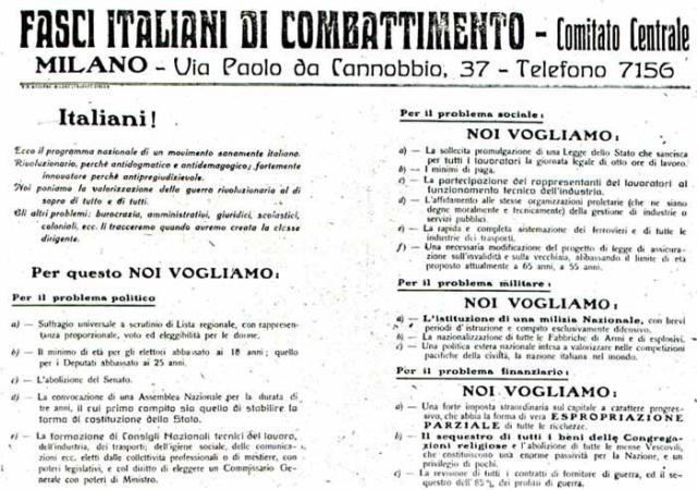 100 Anni di Fascismo
