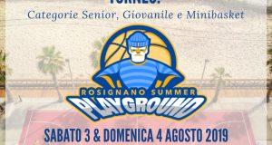 """""""Rosignano Summer Playground"""", sabato 3 e domenica 4 agosto"""
