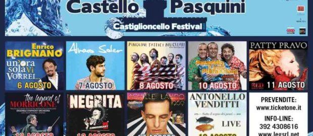Castiglioncello Festival: da stasera al via la seconda edizione