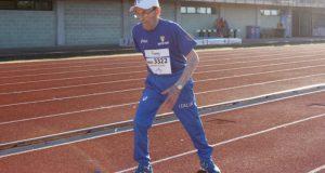 Giuseppe Ottaviani gareggia nel salto in lungo a 103 anni
