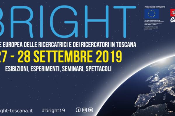 BRIGHT. La notte europea dei ricercatori in Toscana