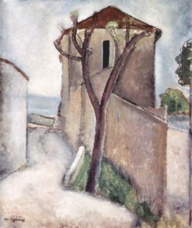 albero e casa