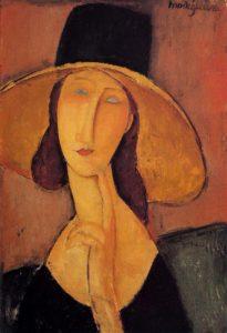 jeanne con cappello