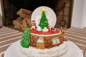 Un dolce di Natale.. in pasta di zucchero