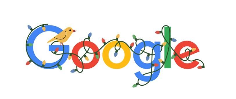 Google celebra le Feste Natalizie con un Doodle