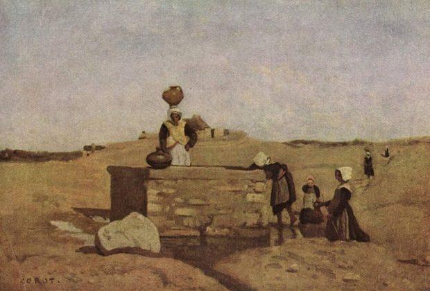 donne bretoni alla fonte