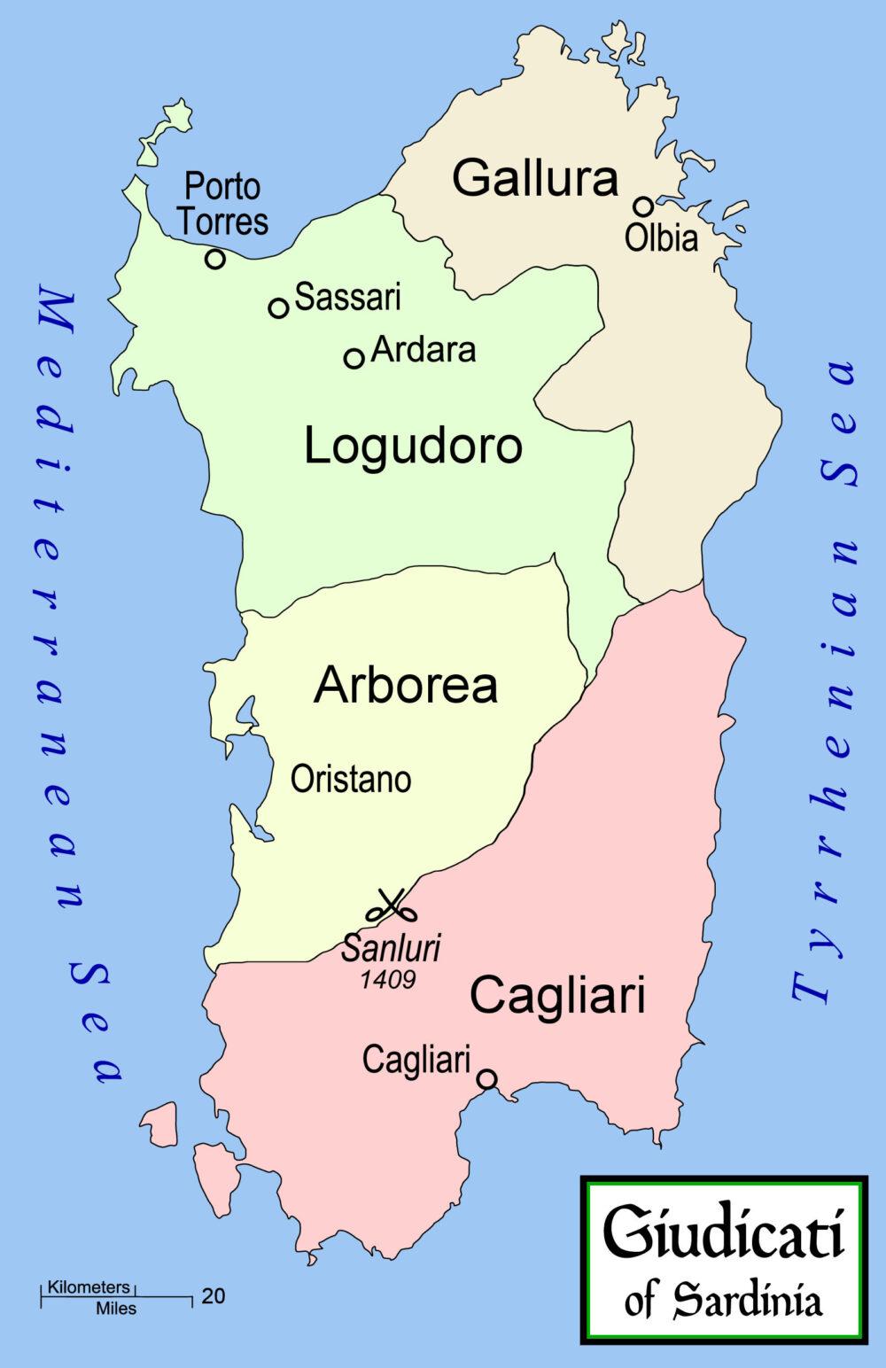 La Sardegna Giudicale – Le Storie di Ieri