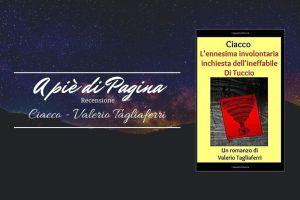 """Recensione """"Ciacco"""", Valerio Tagliaferri"""
