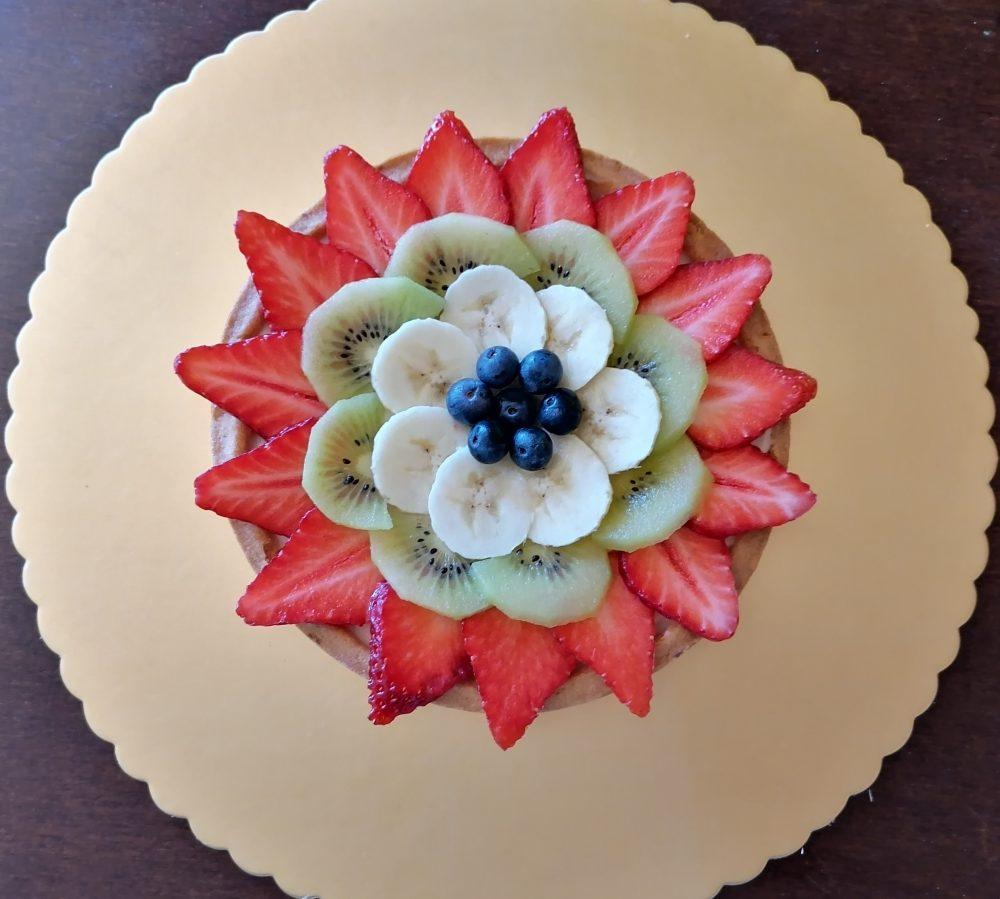 Crostata estiva alla frutta fresca