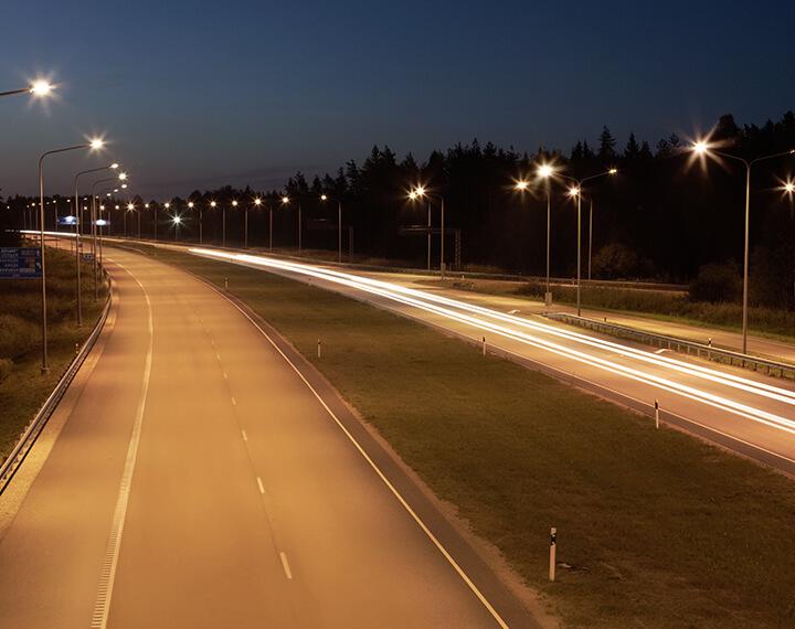 outdoor led lights smart commercial