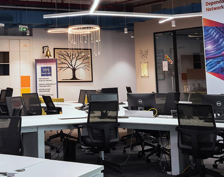 modern led office lighting commercial