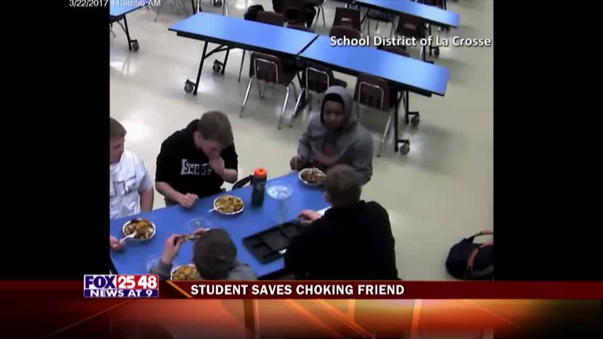 Student Saves Choking Friend_13108457
