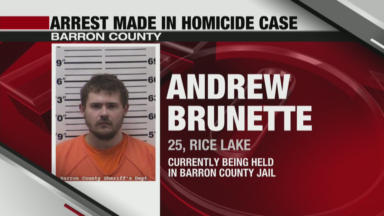 Barron County man arrested in homicide case