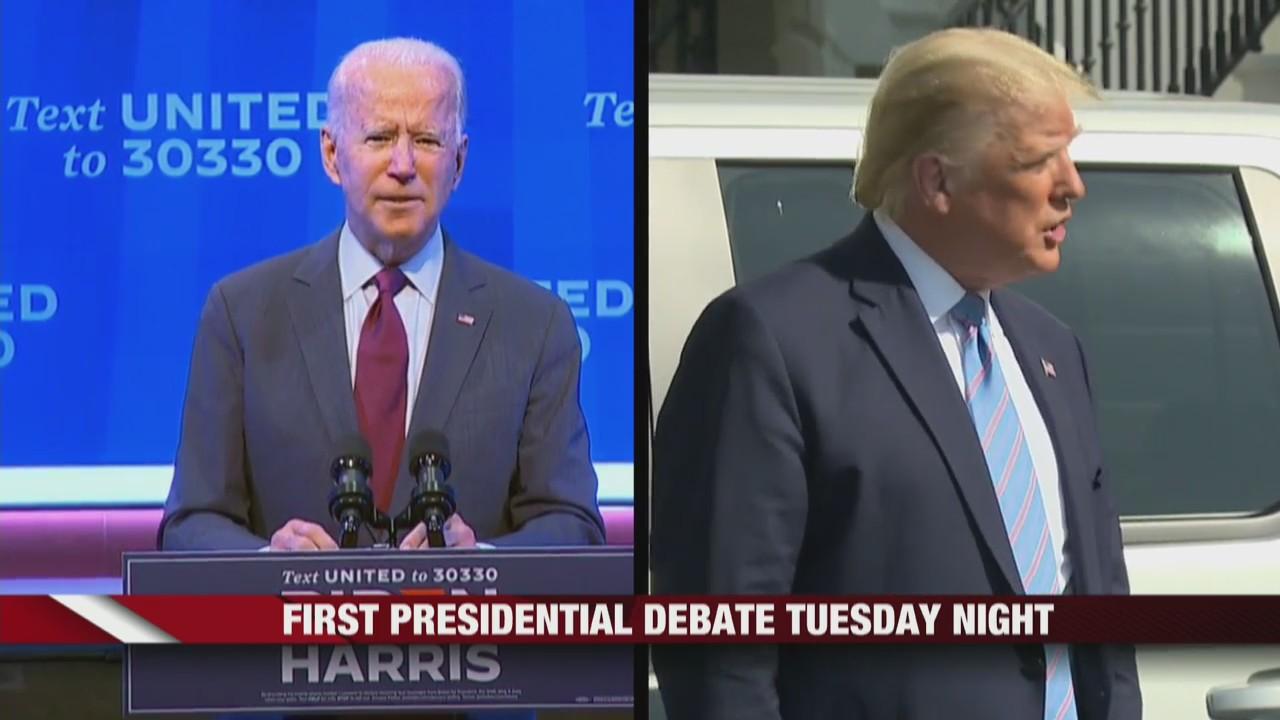 First Presidential Debate Tonight