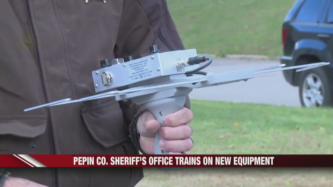 Pepin County Sheriff's Office trains on new equipment