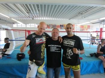TVO Fighting Farmers  beim Tripel Impact Trainingscamp des Muay Thai Bund Deutschland e.V. 2
