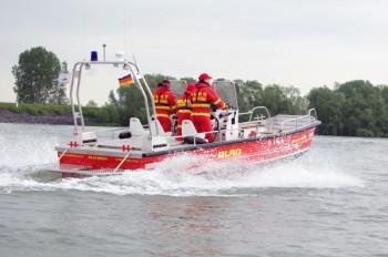 Die DLRG Rheinland-Pfalz warnt: Der derzeit niedrige Wasserstand des Rheins bringt zusätzliche Gefahren!