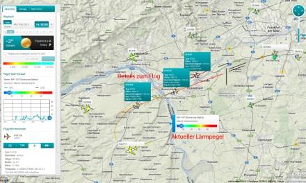 Fluglärm in Rhein-Main beschäftigt Bundesverfassungsgericht