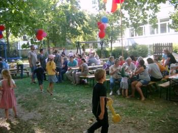 Sommerfest im Spatzennest - Spiel, Spaß, Plaudern, Essen, Trinken im Spatzennest
