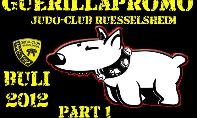 Judo-Club Rüsselsheim e.V. Bundesliga Guerilla Promo begeistert die Stadt