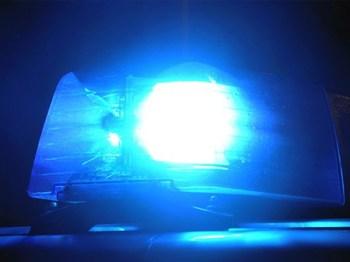Polizei sucht Einbrecher.