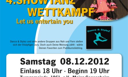 """Let us entertain you 2012"" – TGM-Showtanzwettkampf geht in die vierte Runde"