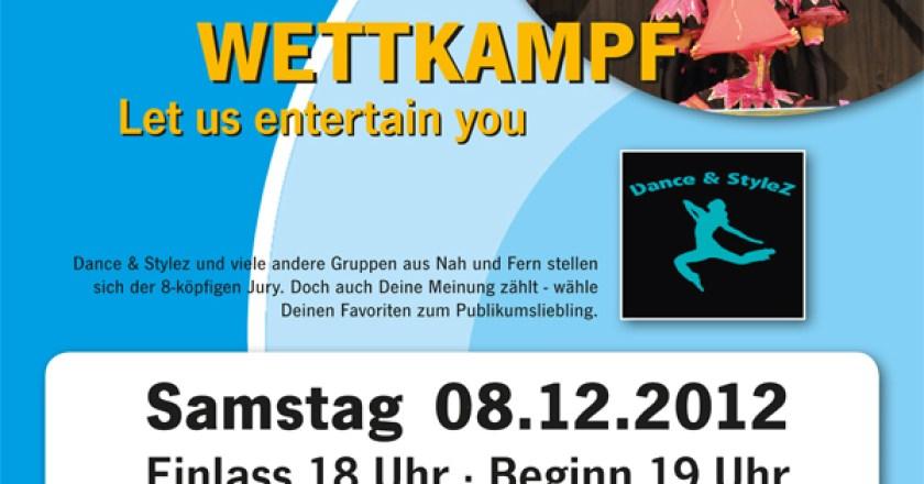 """""""Let us entertain you 2012"""" – TGM-Showtanzwettkampf geht in die vierte Runde"""