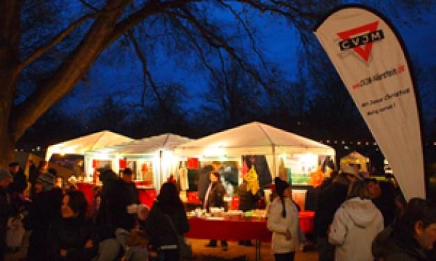 Weihnachtsmarkt Nierstein im Gemeindepark