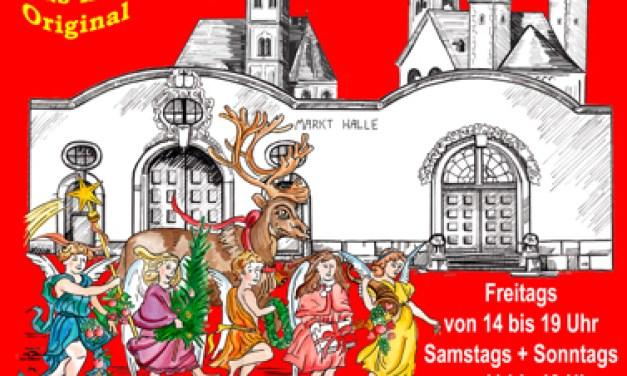 Weihnachtsmarkt Ingelheim in der Alten Markthalle