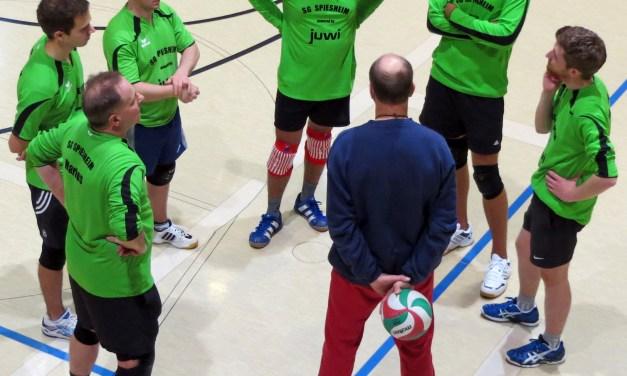 SG Spiesheim: dezimierte Volleyball-Herren siegen knapp