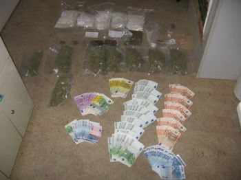 Drogenfund in Budenheim.
