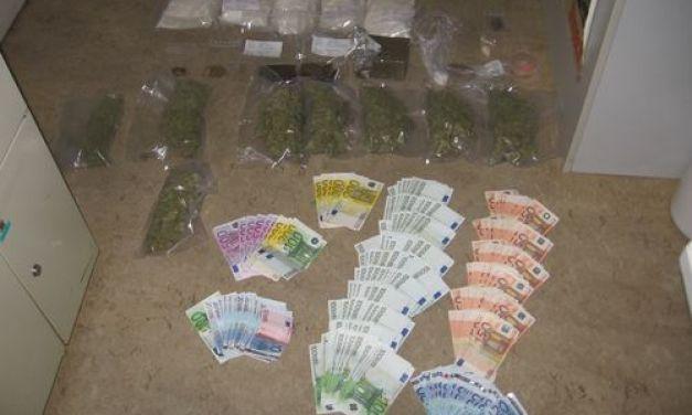 Polizei Mainz nimmt Rauschgiftdealer fest und beschlagnahmt zahlreiche Drogen