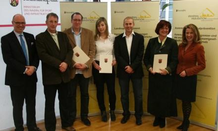 Landespräventionspreis 2012 verliehen – Preisträger auch aus Rheinhessen