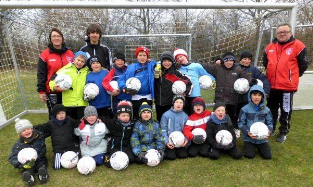 Fußballschule mit den Jüngsten in Ludwigshöhe