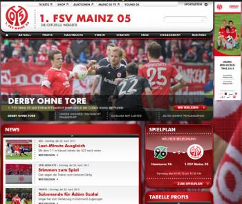 Mainz 05 versus Eintracht Frankfurt 0:0