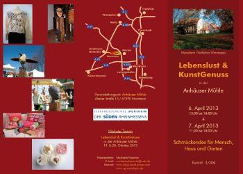 Lebenslust & Kunstgenuß in Monsheim April 2013