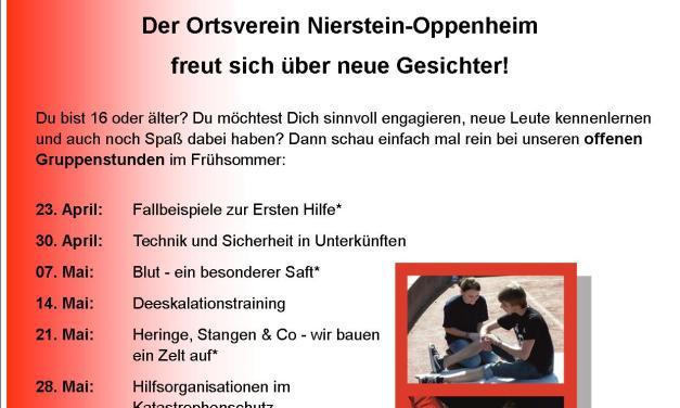 DRK Nierstein-Oppenheim sucht Dich!