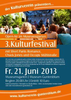 3. Kulturfestival in Guntersblum.