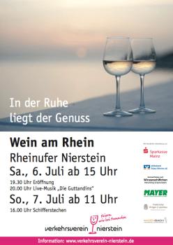 Wein am Rhein.