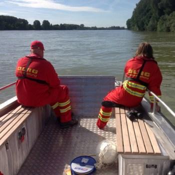 Boot der DLRG Oppenheim