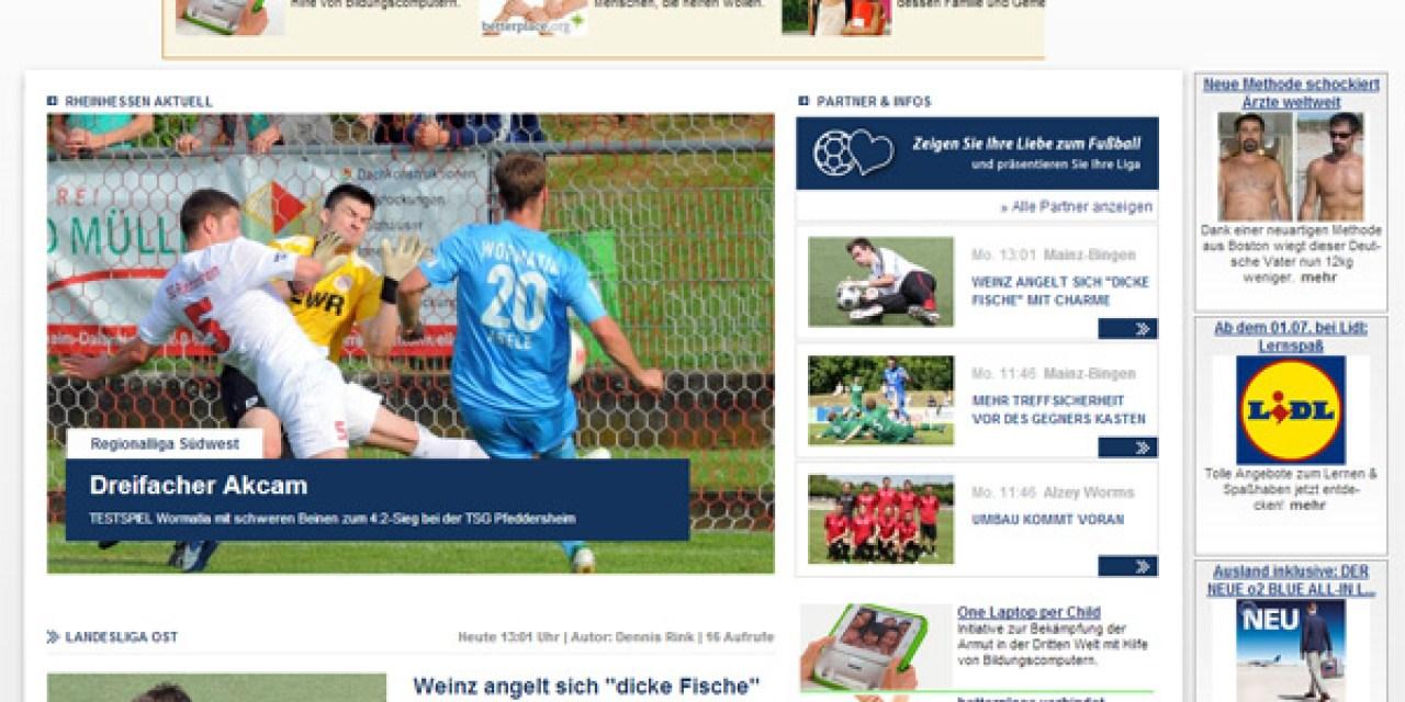 FuPa.Net Rheinhessen ist gestartet