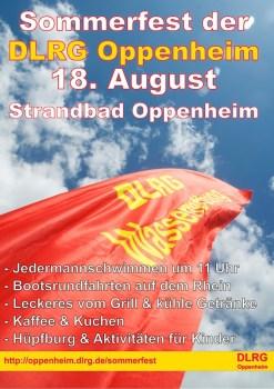 Sommerfest der DLRG Oppenheim.