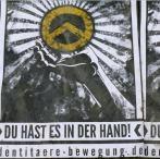 Rechtsradikales Plakat
