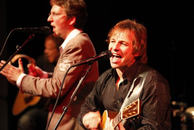Simon and Garfunkel Revivalband bei Kultur auf dem Hof in Dexheim