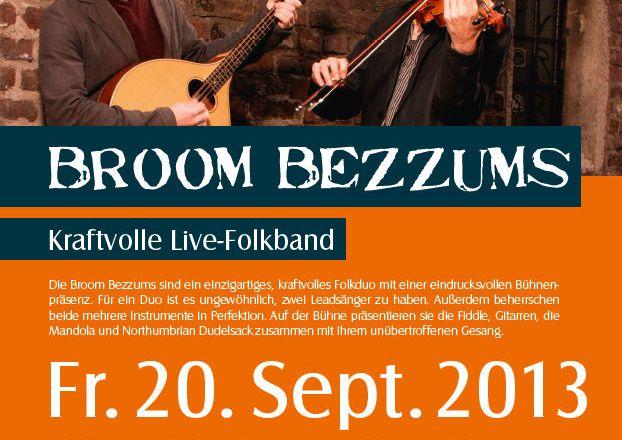 Folk mit Broom Bezzums im Museumskeller Guntersblum