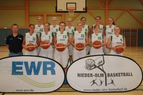 Die Oberliga-Damen der djk Nieder-Olm