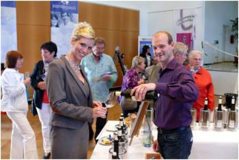 Gelungene Premiere des Forum Vinum in Guntersblum